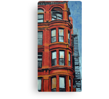 Detroit Loft Canvas Print