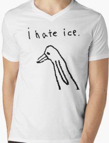 i hate ice. Mens V-Neck T-Shirt
