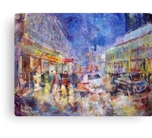 Busy London - Cities Art Gallery Canvas Print