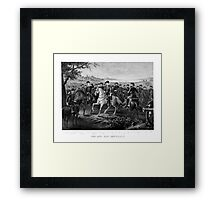 Lee And His Generals  Framed Print