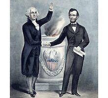 Washington And Lincoln by warishellstore