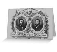 Grant And Colfax Election Greeting Card