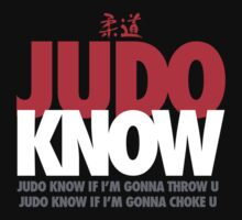 Judo Know Kids Clothes