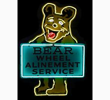 Neon Bear Gas and Oil Unisex T-Shirt