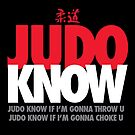 Judo Know by popnerd
