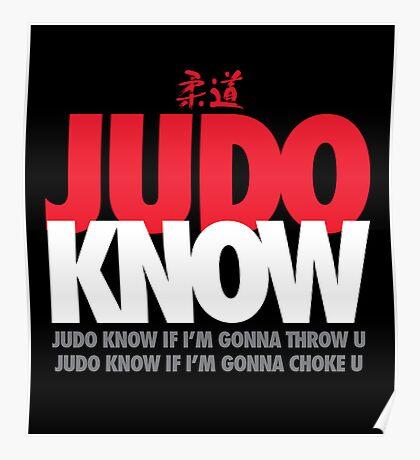 Judo Know Poster