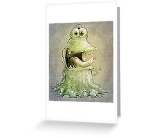 hello three eyes ... Greeting Card