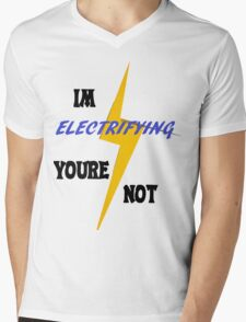 Electrifying Mens V-Neck T-Shirt
