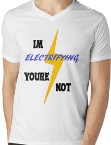 Electrifying Mens V-Neck T-Shirt