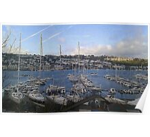 Dartmouth from Kingswear Poster