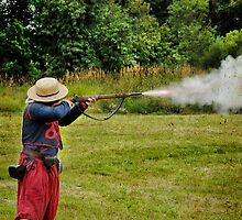 Civil War Reenactment 1 by Heather Haderly