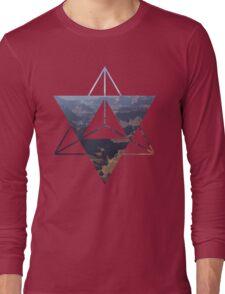 desert Merkaba Long Sleeve T-Shirt