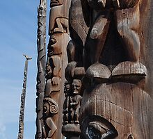 Totem Pole Alley by Ken McElroy
