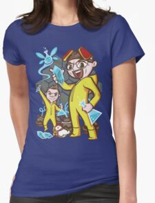 The Legend of Heisenberg Womens Fitted T-Shirt