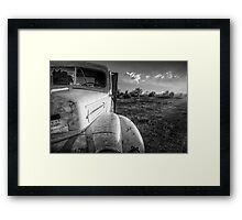 1500 BW Framed Print