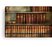 Lawyer - Books - Law books  Canvas Print