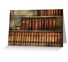Lawyer - Books - Law books  Greeting Card