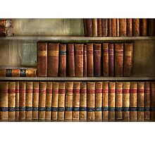 Lawyer - Books - Law books  Photographic Print