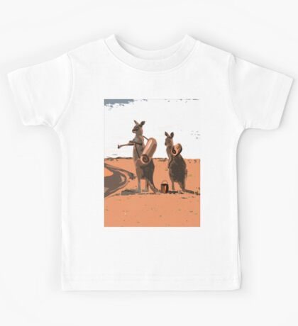 AUSSIE BACKPACKERS Kids Tee
