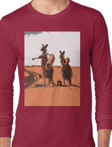 AUSSIE BACKPACKERS Long Sleeve T-Shirt