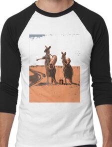 AUSSIE BACKPACKERS Men's Baseball ¾ T-Shirt