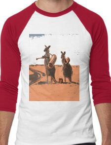 AUSSIE BACKPACKERS Men's Baseball ¾ T-Shirt