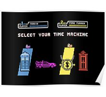 Select Your Time Machine V2 Poster