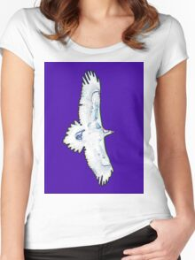 EAGLE SPIRIT Women's Fitted Scoop T-Shirt
