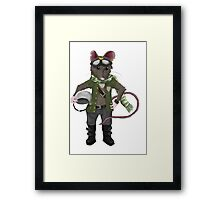 The Mouse Pilot Framed Print
