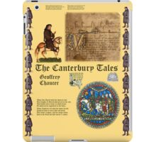 Chaucer's Canterbury Tales iPad Case/Skin