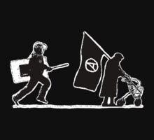 Police & Granny (version for dark shirts) by Bela-Manson