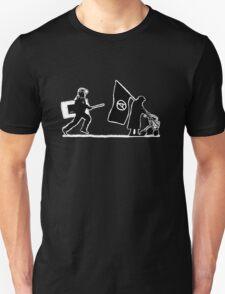 Police & Granny (version for dark shirts) T-Shirt