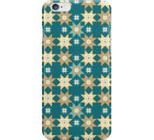 Southwest Stars Teal iPhone Case/Skin