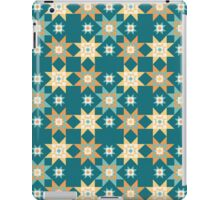 Southwest Stars Teal iPad Case/Skin