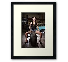 Jessica Pridham @ The Chop Shop Framed Print