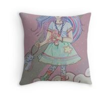 Starry Dreams Throw Pillow