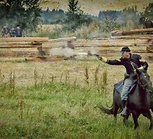 Civil War Reenactment 2 by Heather Haderly