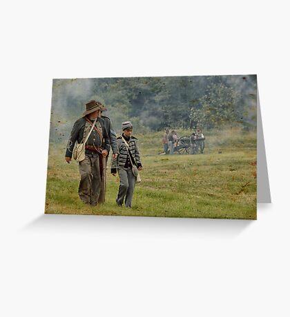 Civil War Reenactment 4 Greeting Card