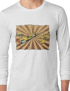 Vintage Air Attack Long Sleeve T-Shirt