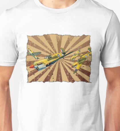 Vintage Air Attack Unisex T-Shirt