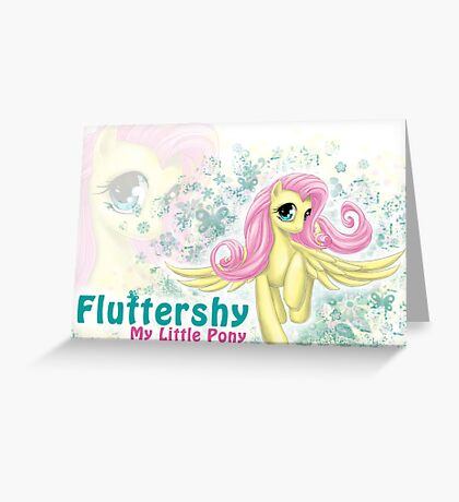 My Little Pony - Sweet Lil' Fluttershy Greeting Card