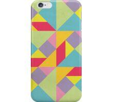 Colorful Tangram Pattern iPhone Case/Skin