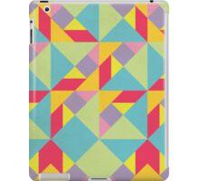 Colorful Tangram Pattern iPad Case/Skin