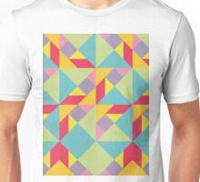 Colorful Tangram Pattern Unisex T-Shirt