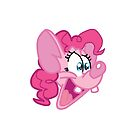 Pinky Pie on White by ShinyEverything