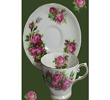.இڿڰۣ-ڰۣ—ROSE CUP AND SAUCER IPHONE CASE.இڿڰۣ-ڰۣ— by ╰⊰✿ℒᵒᶹᵉ Bonita✿⊱╮ Lalonde✿⊱╮