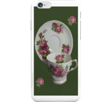 .இڿڰۣ-ڰۣ—ROSE CUP AND SAUCER IPHONE CASE.இڿڰۣ-ڰۣ— iPhone Case/Skin