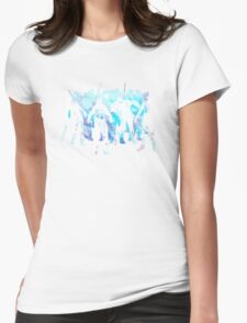 The Walking White Walkers Womens Fitted T-Shirt