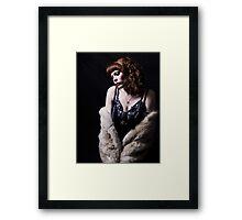 Derby Dollface  Framed Print