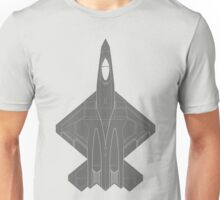 Northrop YF-23 Black Widow II Unisex T-Shirt